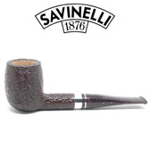 Savinelli - Bacco Rusticated - 128 Pipe - 9mm Filter