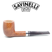 Savinelli - Bacco Smooth Natural - 128 Pipe - 9mm Filter