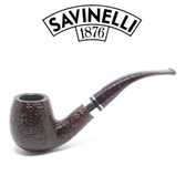 Savinelli - Bacco Rusticated - 602 Pipe - 9mm Filter