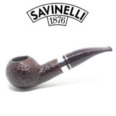 Savinelli - Bacco Rusticated - 321 Pipe - 9mm Filter