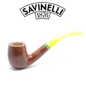 Savinelli - Lime Smooth Light Brown - 606 Pipe - 9mm Filter