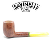 Savinelli - Lime Smooth Light Brown - 111 Pipe - 9mm Filter