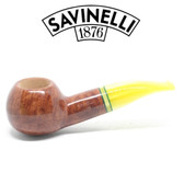 Savinelli - Lime Smooth Light Brown - 321 Pipe - 9mm Filter
