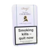 Davidoff - Winston Churchill Belicoso  - Tin of 4 Cigars
