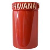 Havana Club - Tinaja Cigar Humidor - Red