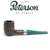 Peterson - St Patricks Day 2021 - 6 - Green Stem - 9mm Filter Pipe