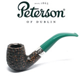 Peterson - St Patricks Day 2021 - 69 - Green Stem - 9mm Filter Pipe