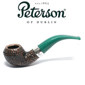 Peterson - St Patricks Day 2021 - 999 - Green Stem - 9mm Filter Pipe