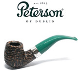 Peterson - St Patricks Day 2021 - XL90 - Green Stem - 9mm Filter Pipe