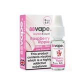 88 Vape - Raspberry Ripple  E Liquid - 3mg / 6mg - 20 x 10ml (200ml Total)