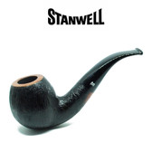 Stanwell - Brushed Black - 185 - 9mm Filter Pipe