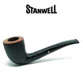 Stanwell - Brushed Black - 140 - Pipe