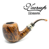 Neerup - Classic  Series -  Gr 3 Bent Billiard Pipe (Smooth) 9mm