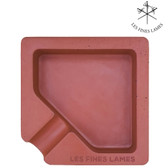 Les Fines Lames - Monad Contrete Ashtray - Red