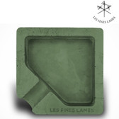 Les Fines Lames - Monad Contrete Ashtray - Green