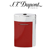 S.T. Dupont - MiniJet - Single Jet Torch Lighter - Red