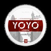 YoYo - London (Lime, Strawberry & Mint)  - Tobacco Free Chew Bags - 12mg