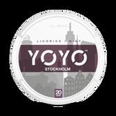 YoYo - Stockholm (Liquorice & Mint)  - Tobacco Free Chew Bags - 20mg