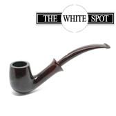 Alfred Dunhill - Chestnut - 3 102 - Group 3 - Bent Bell Spigot - White Spot