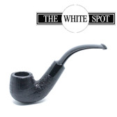Alfred Dunhill - Shell Briar - 2 213 - Group 2 - Bent Apple - White Spot pipe