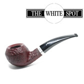 Alfred Dunhill - Ruby Bark - 6 108 - Bulldog - Group 6 -  White Spot - Silver Band