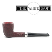 Alfred Dunhill - Ruby Bark - 2 102  - Group 2 - Dublin - White Spot - Silver Band