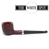 Alfred Dunhill - Ruby Bark - 2 106  - Group 2 - Pot - White Spot - Silver Band