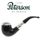 Peterson - Ebony Spigot Silver Cap 69 - Fishtail Pipe