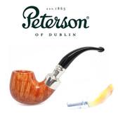 Peterson - Natural Spigot Amber Stem 221 - P-Lip - RARE