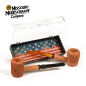 Missouri Meerschaum - Two Pipe Let Freedom Ring Set