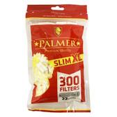 Palmer - Slim Extra Long Tips - 300 Filters - 6mm x 22mm