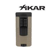 Xikar - Tactical - Triple Jet Flame Lighter - Tan & Black