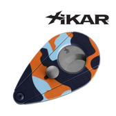 Xikar - Xi2 Cigar Cutter - Camo Blue & Orange (58 Gauge)