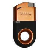 Dissim - Inverted Lighter - Soft Flame Pipe Lighter - Orange