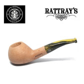 Rattrays - Fudge -  17 Smooth - 9mm Filter Pipe - Yellow Stem