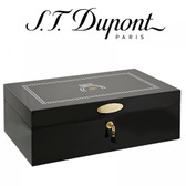 ST Dupont Cohiba 55th Collection Humidor - Black Lacquered - Holds up to 100 Cigars