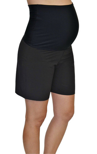 Our classic jean maternity shorts will keep you in style and compliment tees, blouses and shirts. You'll find the length, waist and fit to keep you comfy and looking stylish in our maternity shorts collection. Putting the Comfort in Comfortable.