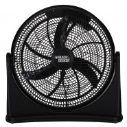 BLACK & DECKER 16 Inch High Velocity Turbo Air Circulator Floor Fan - BDHT-5016