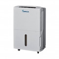 IMPECCA 50-Pint Portable Dehumidifier - IDM-59SE