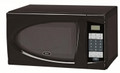 OSTER OGDJ702 0.7Cu.Ft. Compact 700-Watt Digital Microwave Oven - Black - OGDJ702