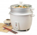 ELITE 8-Cup Rice Cooker with Steam Tray - ERC-008ST