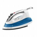 BLACK & DECKER Quick N Easy Steam Iron with Nonstick Soleplate - White with Chrome Plated Accent - IR0175W