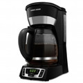 BLACK & DECKER CM1010B 12-Cup Programmable Coffeemaker with Glass Carafe - Black - CM1010B