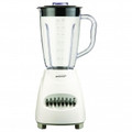 BRENTWOOD 12 Speed Blender Plastic Jar - White - JB-220W