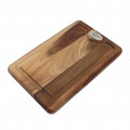 CAT CORA Two-Sided Acacia Wood Cutting Board (16 x 10.6-in.) - 0700140010000