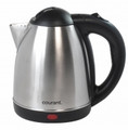 COURANT 1.7 Liter Cordless Electric Kettle, Stainless Steel - KEC171S