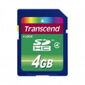TRANSCEND SD High Capacity 4GB Card Class 4 - TS4GSDHC4