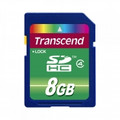 TRANSCEND SD High Capacity 8GB Card emClass 4em - TS8GSDHC4