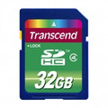 TRANSCEND SD High Capacity 32GB Card emClass 4em - TS32GSDHC4