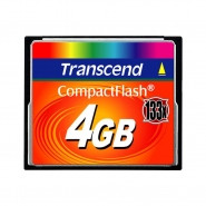 TRANSCEND Compact Flash 4GB 133x - TS4GCF133